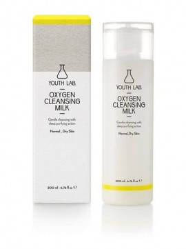 Youth Lab Oxygen Cleansing Milk Normal_Dry Skin 200ml
