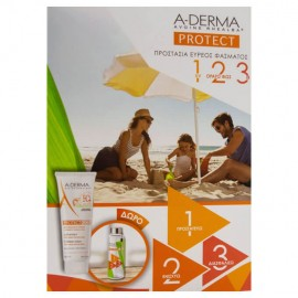 A-Derma Protect Kids Children Lotion spf50+ 250ml & Δώρο Παιδικό Παγούρι