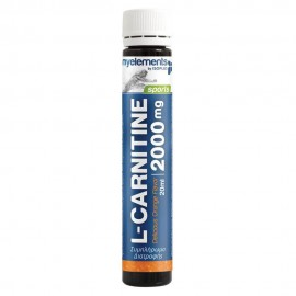 My Elements Sports L-Carnitine Liquid 2000mg  20ml