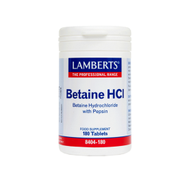 Lamberts Betaine HCI 180 ταμπλέτες