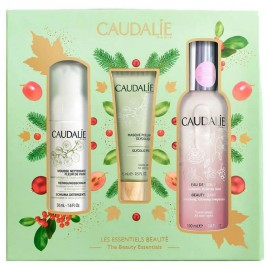 Caudalie set Beauty Elixir Limited Edition 100ml & Mask Peeling Glycolique 75ml & Instant Foaming Cleanser 50ml