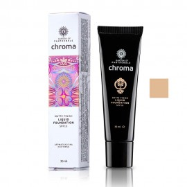 Garden Of Panthenols Chroma Liquid Foundation spf15 No 07 Honey 35ml