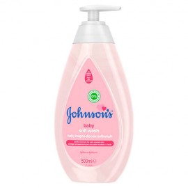 Johnsons Baby Soft Αφρόλουτρο 500ml