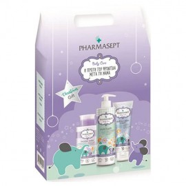 Pharmasept Gift Set Baby Care Tol Velvet Mild Bath 500ml & Micellar Water 300ml & Tol Velvet Baby Care Extra Calm Cream 150ml