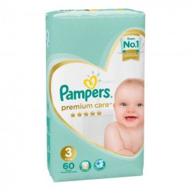 Pampers Premium Care no 3 (  6-10kg) 60τμχ