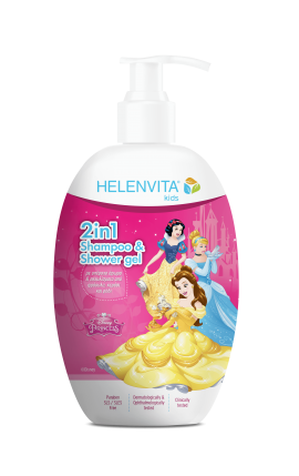 Helenvita Kids Princess  2 in 1 Shampoo & Shower Gel  500ml