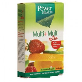 Power Health Multi + Multi Extra 30 δισκία
