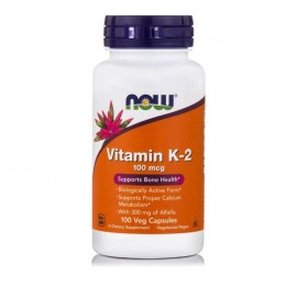Now Foods Vitamin K - 2 100 veg caps