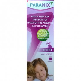 Paranix spray + κτένα 100ml