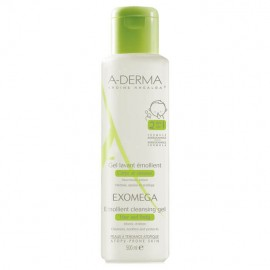 A- Derma Exomega Control Emollient Cleansing Gel Lavant Body & Hair 500ml