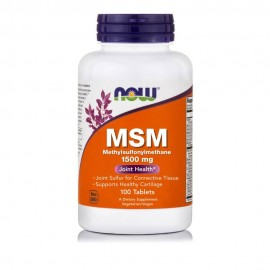 Now Foods MSM 1500mg 100tabs