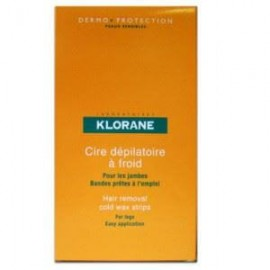 Klorane Cold Wax Strips with sweet almond 6τμχ