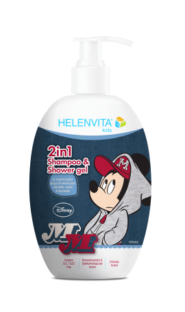 Helenvita Kids Mickey Mouse 2 in 1 Shampoo & Shower Gel  500ml