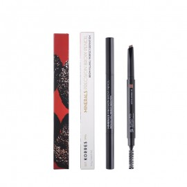 Korres Minerals Precision Brow Pencil 01 Dark Shade 0.2g