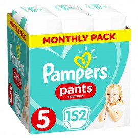 Pampers Monthly Pack Premium Care Pants no 5 (12-17kg) 152τμχ