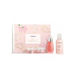 Darphin Set Intral Botanical Soothing Secrets Daily Rescue Serum 30ml & De-Puffing Anti-Oxidant Cream 15ml & Soothing Cream 5ml & Toner with Chamomile 50ml