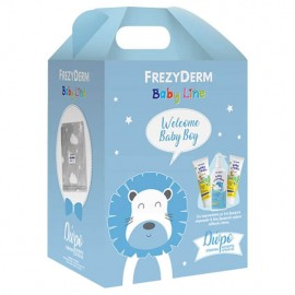 Frezyderm Welcome Baby Boy Set Baby Shampoo 300ml & Baby Cream 2x175ml & ΔΩΡΟ Κουβέρτα Αγκαλιάς 1τμχ