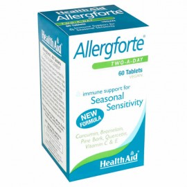 Health Aid Allergforte Two a Day 60tabs