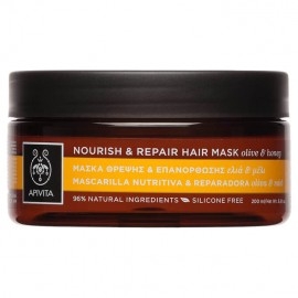 Apivita Nourish & Repair Hair Mask 200ml