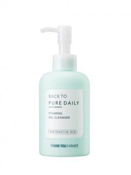Thank You Farmer Back To Pure Daily Foaming Gel Cleanser 200ml