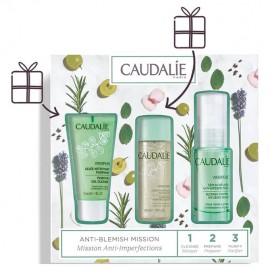 Caudalie Set Vinopure Purifying Cleanser Καθαριστικό Gel Προσώπου 30ml - Clear Skin Purifying Toner 50ml - Blemish Control Infusion Serum 30ml