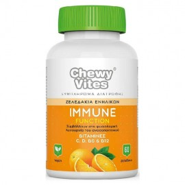 Chewy Vites Adults Immune Function 60 ζελεδάκια