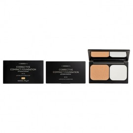 Korres Activated Charcoal Corrective Compact Foundation ACCF2 Διορθωτικό make-up για Ατέλειες 9.5gr