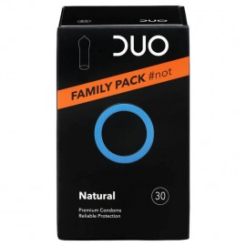 Duo Νatural Premium Condoms Family Pack #not Προφυλακτικά 30τμχ
