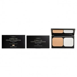 Korres Activated Charcoal Corrective Compact Foundation ACCF1 Διορθωτικό make-up για Ατέλειες 9.5gr