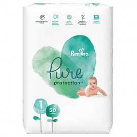 Pampers Pure Protection No.1 (2-5kg) 50τμχ
