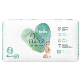 Pampers Pure Protection No.2 (4-8kg) 39τμχ