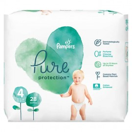 Pampers Pure Protection No.4 (9-14kg) 28τμχ