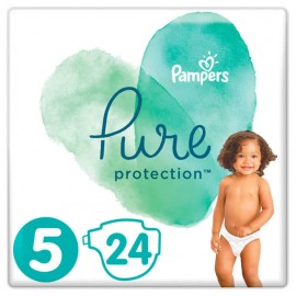 Pampers Pure Protection No.5 (11+kg) 24τμχ