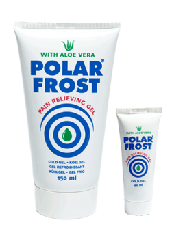 Polar Frost Pain Relieving Cold Gel 150ml