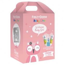 Frezyderm Welcome Baby Girl Set Baby Shampoo 300ml & Baby Cream 2x175ml & ΔΩΡΟ Κουβέρτα Αγκαλιάς 1τμχ