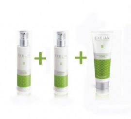 Exelia Tonic Lotion 200ml + Cleansing Milk 200ml + Cleansing & Hydrating Face Mask 125ml ΔΩΡΟ