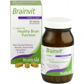 Health Aid Brainvit Tablets 60s