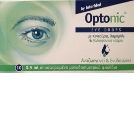 Intermed Optonic Eye drops 10 x 0.5ml