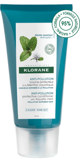 Klorane Anti-Pollution Protective Conditioner Mint Aquatic 150ml