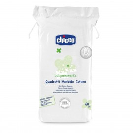 Chicco Baby Moments Μαντηλάκια από μαλακό βαμβάκι 60τμχ