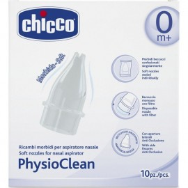 Chicco PhysioClean Ανταλλακτικά 10τμχ