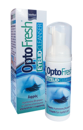 Intermed OptoFresh Relax Eyelid Cleanser 50ml