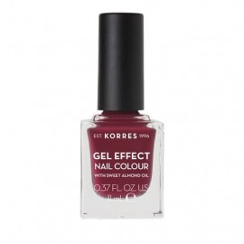Korres Gel Effect Nail Colour No 74 Berry Addict 11ml