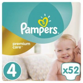 Pampers Premium Care No 4 (9-14kg) 52τμχ