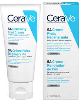 CeraVe SA Renewing Foot Cream - Κρέμα Ποδιών 88ml