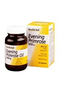 Health Aid Evening Primrose 1000mg 30 κάψουλες