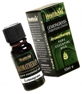 Health Aid Aromatherapy Lemongrass Oil ( cymbopogon ciratus) 10ml