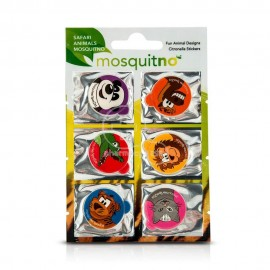 Mosquitno Safari Animals Citronella Stickers 6τμχ